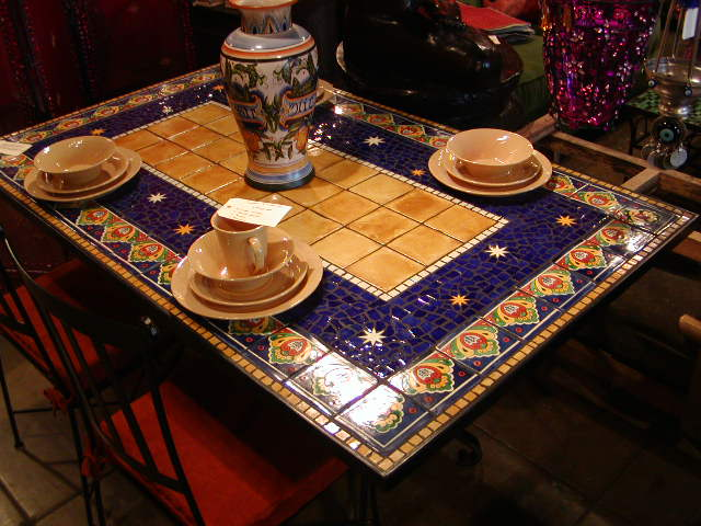Furthur Wholesale Mosaic Dining Tables  Mosaic Tables  Pinterest Interesting Mosaic Dining Room Table Review