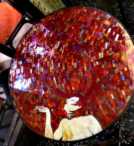 Paloma Mosaic Coffee Table: Furthur Wholesale Custom Mosaic Tables And Table Tops
