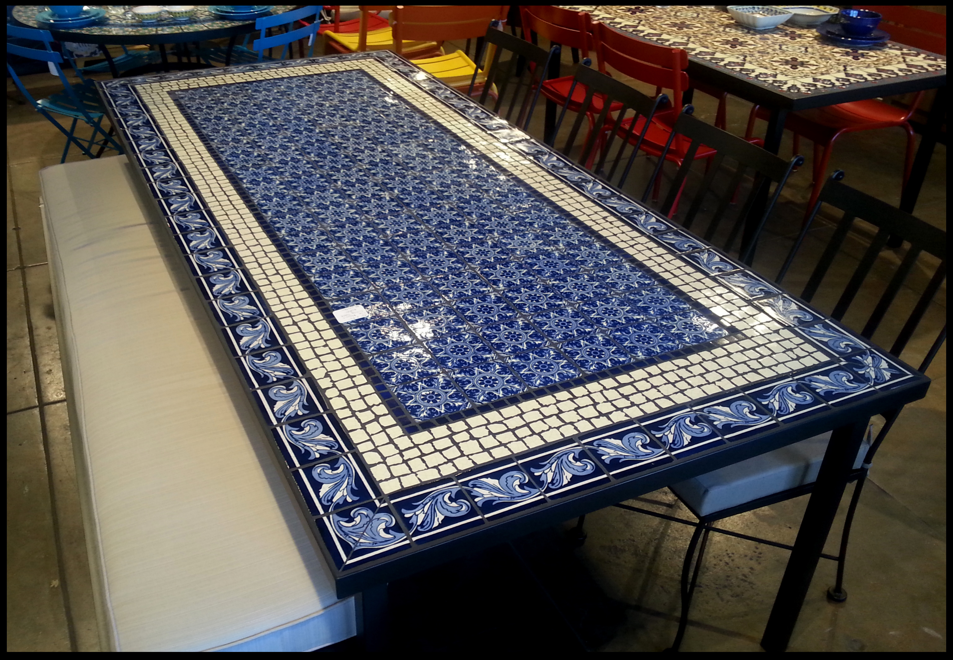 Mosaic Tables and Interior Design | How To Mosaic