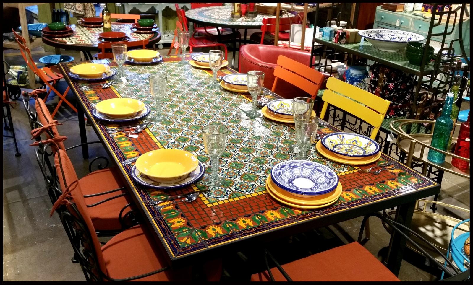 Mexican Tile Table Tops Amp Ek17 Roccommunity