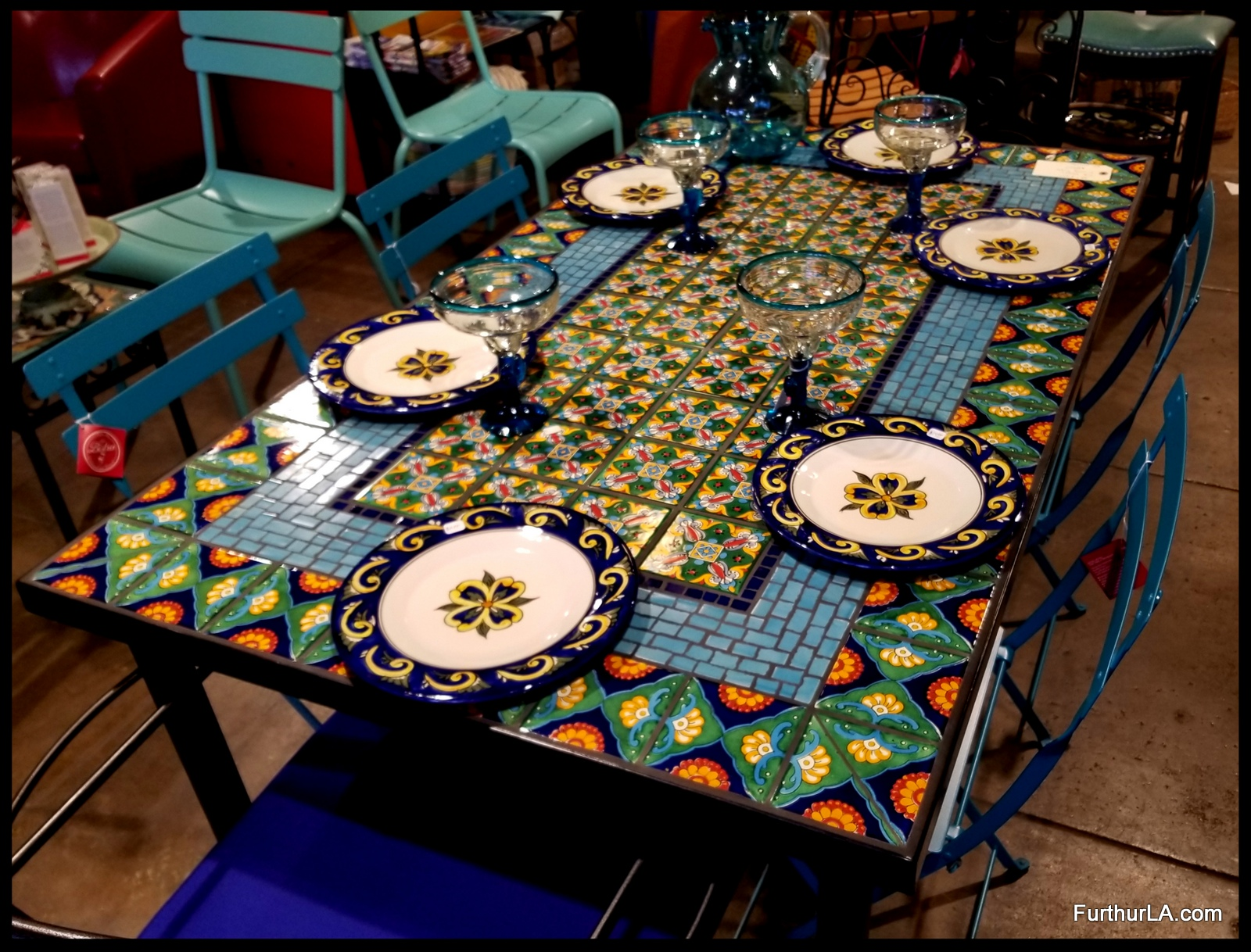 MOSAIC TILE TABLE ARTEAGA 35