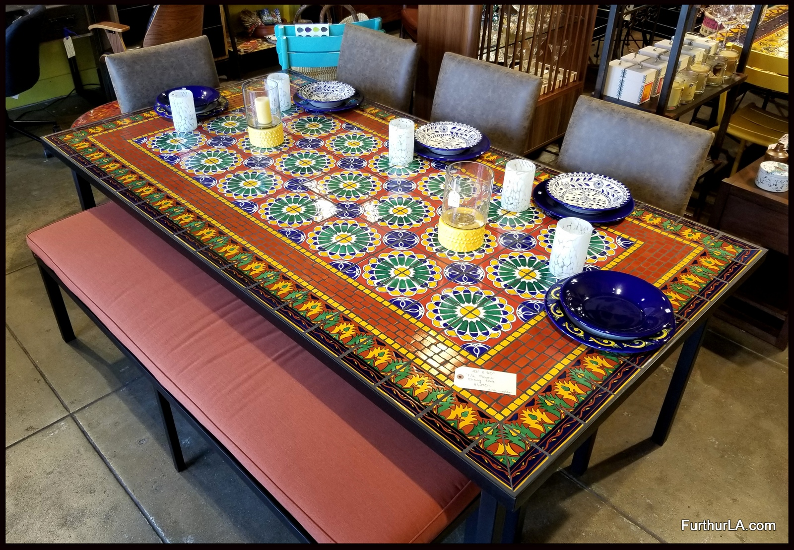 Furthur Whole Mosaic Dining Tables