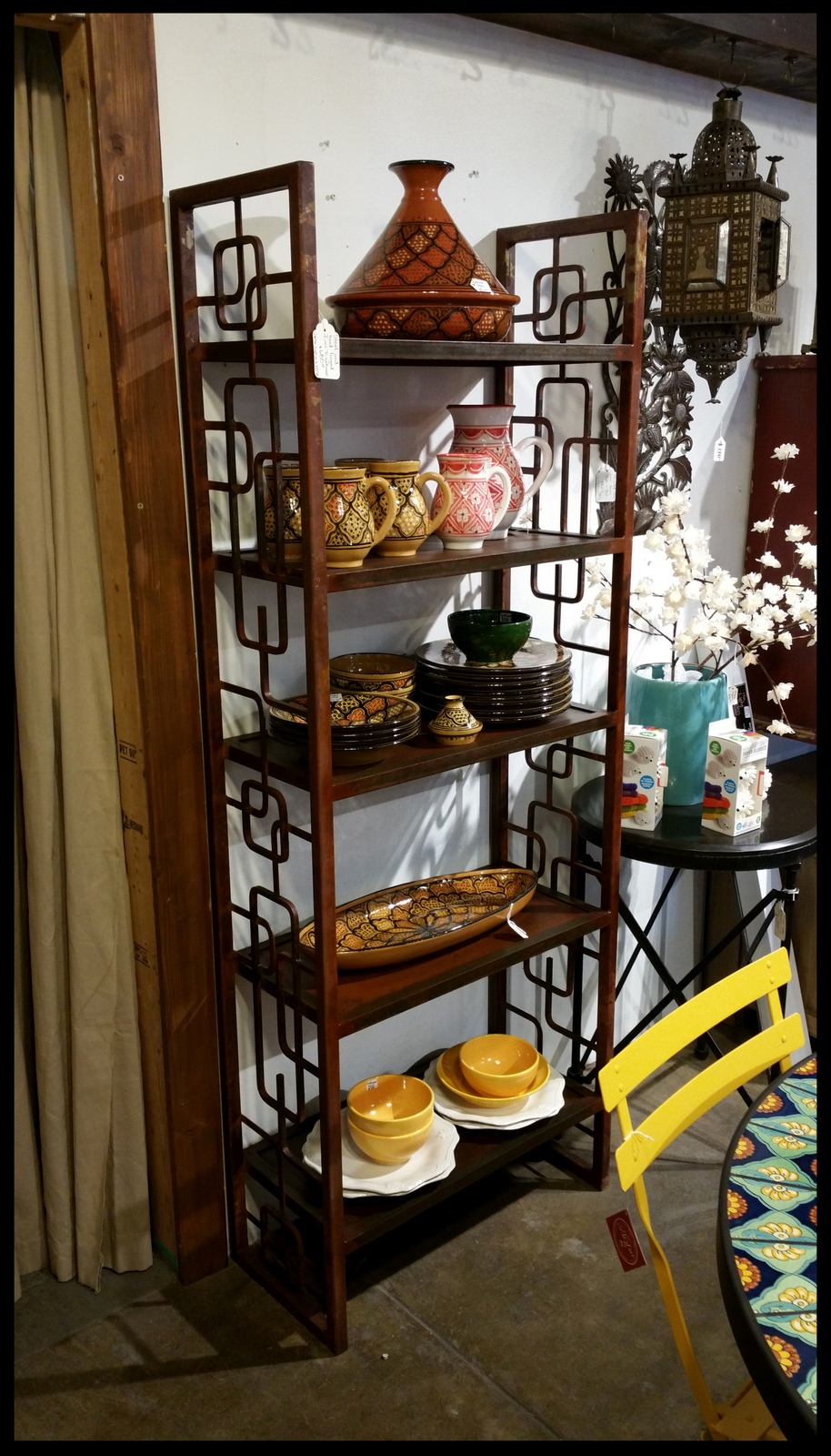 Wood And Iron Bookcases Armoires And Dressers